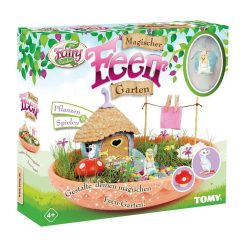 toptopdeal My Fairy Garden Toy Set - Magic Fairy Garden for Children from 4 Years to Plant & Play - 1 x Set Fairy Garden with Grass Seeds
