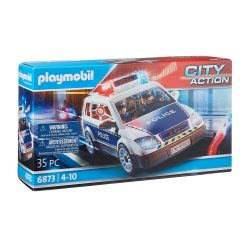 toptopdeal Playmobil City Action 6873 Police vehicle with light and sound effects- ages 5+