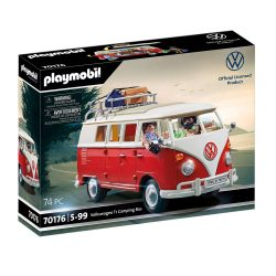 toptopdeal Playmobil Volkswagen camping bus- for children from the age of 5- 70176 T1