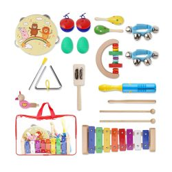 toptopdeal Yissvic 12pcs Musical Instruments- multicoloured
