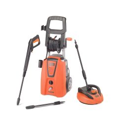 toptopdeal-Black & Decker 140 Bar 1900 W Pressure Washer with Fixed Brush and Patio Brush