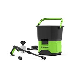 toptopdeal-Greenworks 60 V DC Battery Hochdruckreiniger (without Battery and Charger)