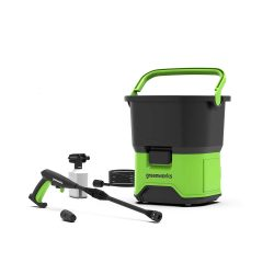 toptopdeal-Greenworks GDC40 40V 6m High Pressure Washer with 2 5Ah Batteries and Charger