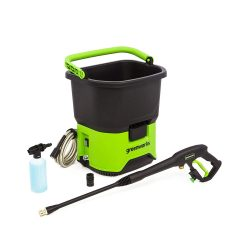 toptopdeal-Greenworks PWF301 40V Cordless Pressure Washer Battery Not Included