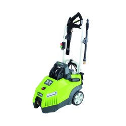 toptopdeal-Greenworks Tools 51027 130 Bar Pressure Washer 1700 Watt 360 Litres h compact Horizontal Design, Easy to Carry No Tipping